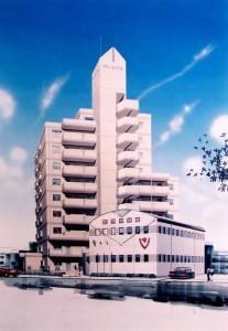 豊田バレエ学校と宿泊施設(寮)
